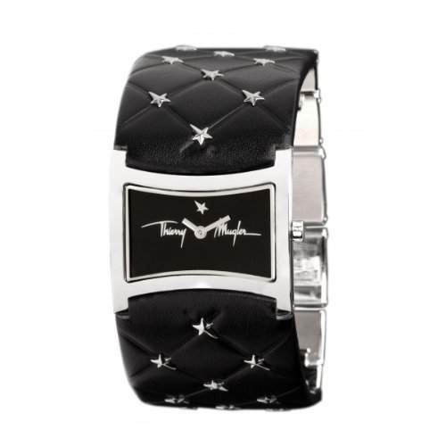 Thierry Mugler Damen-Armbanduhr Analog Quarz Leder 4702601