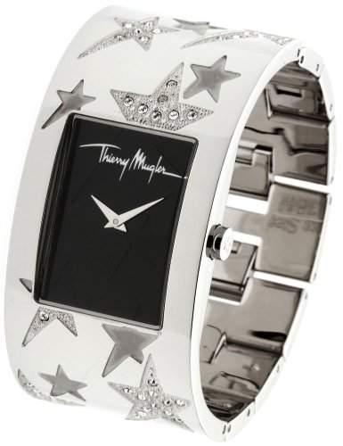 Thierry Mugler Damen-Armbanduhr Analog Edelstahl Silber 4707701