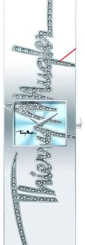 Thierry Mugler Damen-Armbanduhr Analog Quarz Edelstahl 4714503
