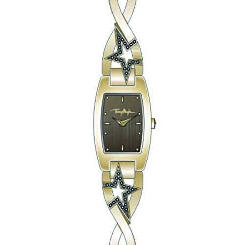 Thierry Mugler Damen-Armbanduhr Analog Quarz Edelstahl 4716102