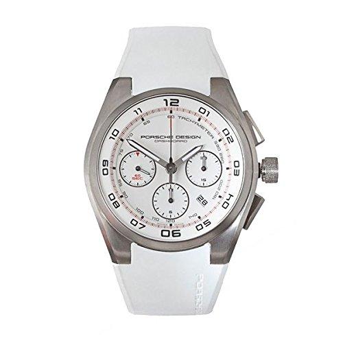 PORSCHE Armbanduhr Analog Quarz 6620 11 66 1239 PLATA