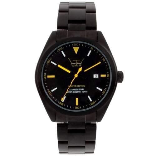 LTD WATCH Unisex-Armbanduhr Analog schwarz 280205