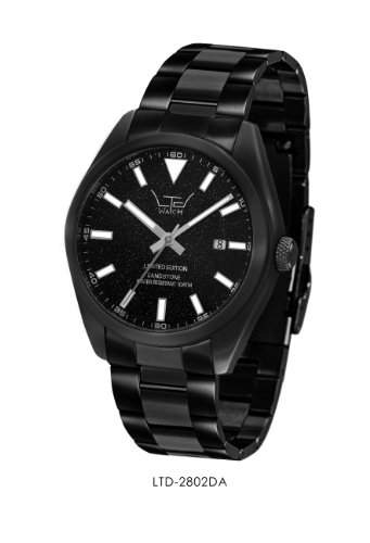 LTD WATCH Unisex-Armbanduhr Analog schwarz 2802DA