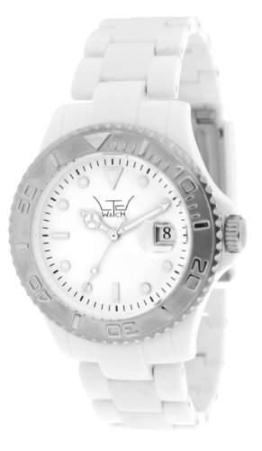 LTD Watch Unisex-Armbanduhr Analog Plastik weiss LTD 0207D