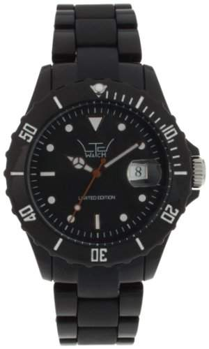 LTD Watch Unisex-Armbanduhr Analog Plastik schwarz LTD 0301SD