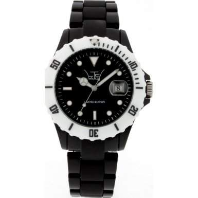 LTD Watch Unisex-Armbanduhr Core Analog Kunststoff schwarz LTD 030510