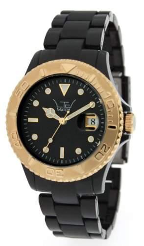 LTD Watch Unisex-Armbanduhr Analog Plastik schwarz LTD 0307D