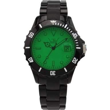 LTD Watch Unisex-Armbanduhr Core Analog Kunststoff schwarz LTD 030902