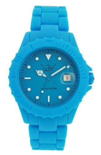 LTD Watch Unisex-Armbanduhr Analog Plastik blau LTD 071401