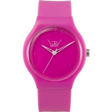 LTD Watch Unisex-Armbanduhr Essentails Analog Kunststoff pink LTD 091201