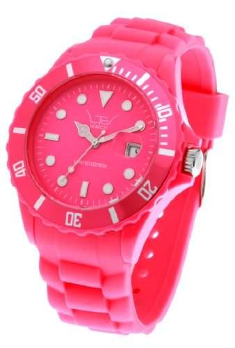 LTD Watch Unisex-Armbanduhr Analog Plastik rosa LTD 091302