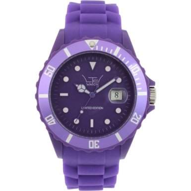 LTD Watch Unisex-Armbanduhr Silicon Analog Silikon violett LTD 111301