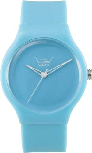 LTD Watch Unisex-Armbanduhr Essentails Analog Kunststoff tuerkis LTD 121201