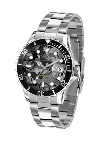 LTD Watch Unisex-Armbanduhr Analog Edelstahl grau LTD 210129