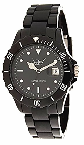 LTD Watch Unisex Armbanduhr Classic Analog Kunststoff schwarz LTD 030142