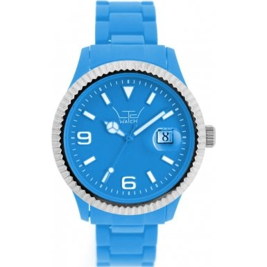 LTD Watch Unisex Armbanduhr Plastic Ex Analog Kunststoff blau LTD 071001