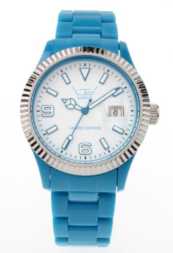 LTD Watch Unisex Armbanduhr Plastic Ex Analog Kunststoff blau LTD 071002