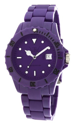 LTD Watch Unisex Armbanduhr Analog Plastik violett LTD 110124