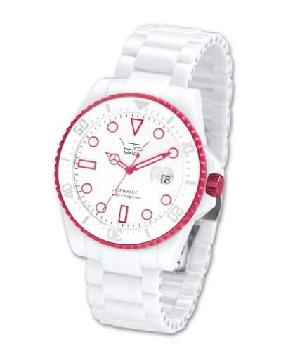 LTD Watch Unisex-Armbanduhr Analog Quarz Keramik LTD-021802