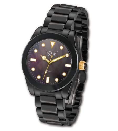 Ltd Watch Damen-Armbanduhr Ltd Watch Ceramic Analog Keramik Schwarz LTD-030625