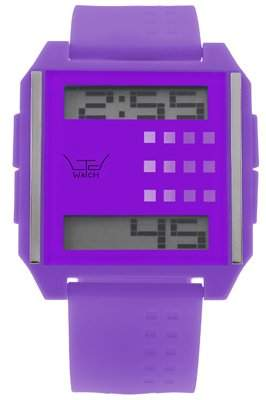 Ltd 110401 Unisex Digitaluhr mit Purple Face