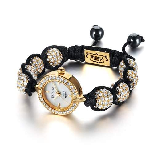 Ltd Watch Damen-Armbanduhr Analog andere Materialien gold SH 042