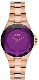 Storm London CRYSTANA 47254P Damenarmbanduhr flach & leicht