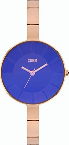Storm Damenuhr Azeera RG-Blue Edelstahl analog 47270B
