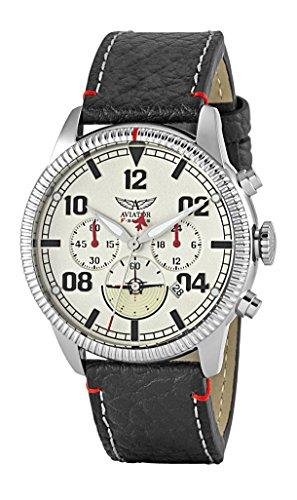 AVIATOR Herren avw2072g304 Designer Chronograph