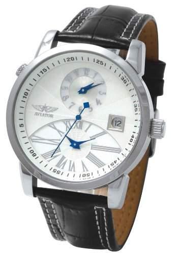 AVIATOR AUTOMATIC DUAL TIME Armbanduhr