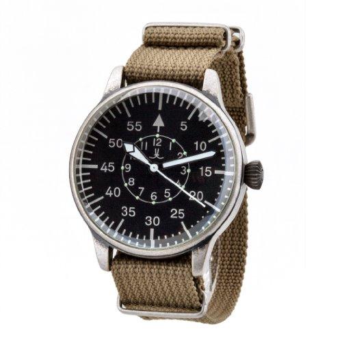 Pilot JLP 101 Armbanduhr Armband aus Nylon