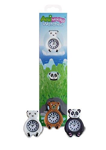 Anisnap Kinder Uhren Snap auf Handgelenk spritzwasserfest Uhr fuer die Kinder die perfekten Jungen und Maedchen Uhren das ist ein grosses Geschenk