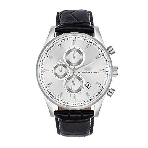 Rhodenwald & Soehne Herrenuhr Galando Chronograph Edelstahl 10010102