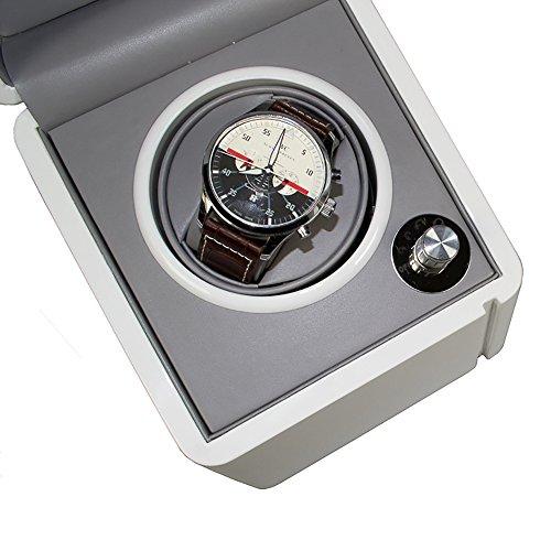 Rosenfelt UHRENBEWEGER DANIEL Uhrenaufzieher fuer eine Automatische Uhr Direktantrieb mit Japanischem Motor Gangart einstellbar Netzunabhaengig Batteriebetrieb moeglich