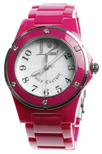 JUICY COUTURE Damen-Armbanduhr RICH GIRL Analog Quarz Kunststoff 1900580