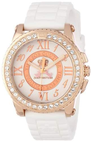 Juicy Couture Ladies Pedigree Crystal Decorated Watch - 1900792