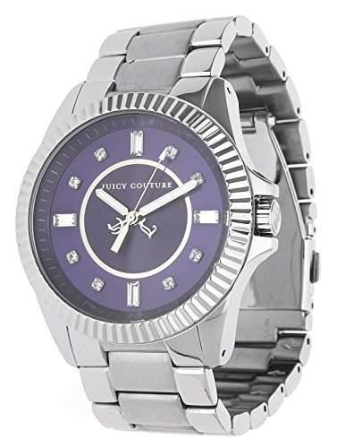 JUICY COUTURE Damen-Armbanduhr Analog Quarz Edelstahl 1900926