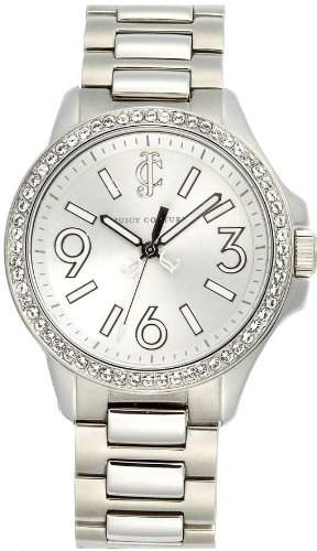 Juicy Couture Ladies Jetsetter Crystal Encrusted Watch - 1900958