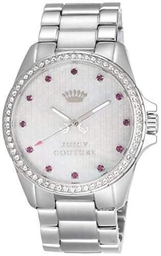 JUICY COUTURE Damen-Armbanduhr STELLA Analog Quarz Edelstahl 1901008