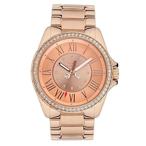 JUICY COUTURE Damen-Armbanduhr STELLA Analog Quarz Edelstahl 1901011
