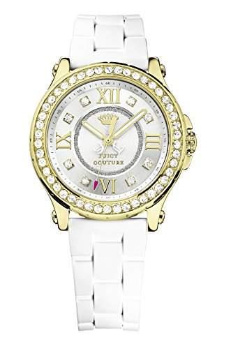 Juicy Couture Damen-Armbanduhr Pedigree Analog Quarz Kunststoff 1901053