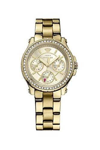 Juicy Couture Damen-Armbanduhr Pedigree Analog Quarz Rotgold 1901105