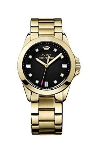 Juicy Couture - 1901122 Damen-Armbanduhr-Quarz-Analog Gold, gold