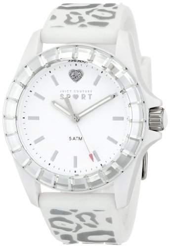 Juicy Couture Damen 1901135 Juicy Sport Analog Display Quartz White Armbanduhr