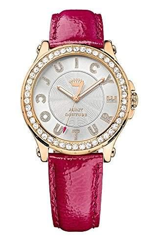 Pedigree womenJuicy Couture Damen-Armbanduhr 17251562 Analog 1901204 Lederarmband