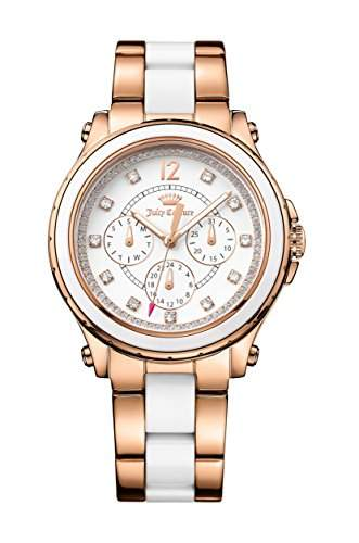 Juicy Couture 1901303 Ladies Hollywood Two Tone Multi Function Watch
