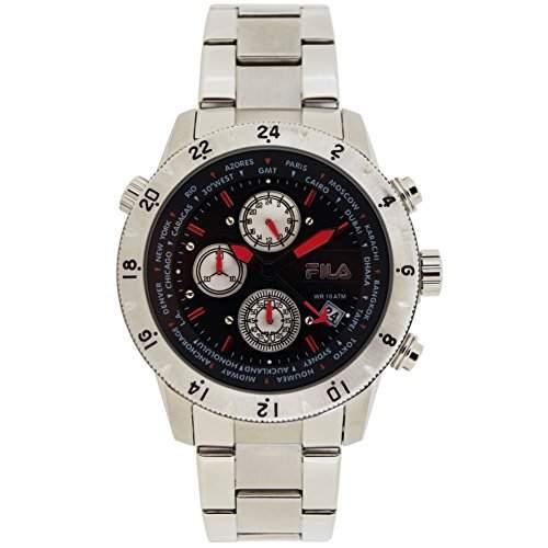 FILA Herrenuhr Armbanduhr Quarz 38-007-001 FILACASUAL Sport Chronograph