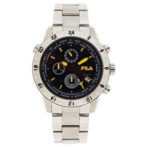 FILA Herrenuhr Armbanduhr Quarz 38-007-003 FILACASUAL Sport Chronograph