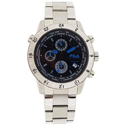 FILA Herrenuhr Armbanduhr Quarz 38-007-004 FILACASUAL Sport Chronograph