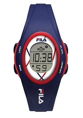 FILA Unisex-Armbanduhr Digital Quarz 38-050-102 FILACASUAL Blau Plastik